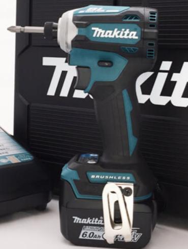 マキタ:充電式インパクトドライバー14.4V