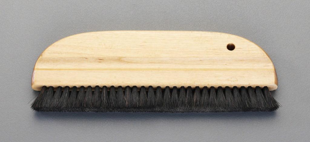 穴なしの撫で刷毛