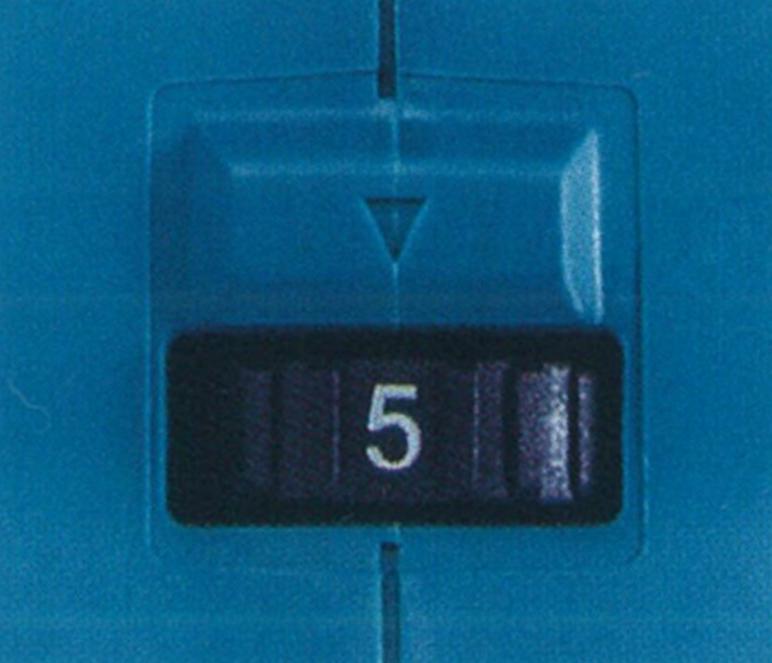 マキタ充電式ドライウォールサンダーのダイヤル